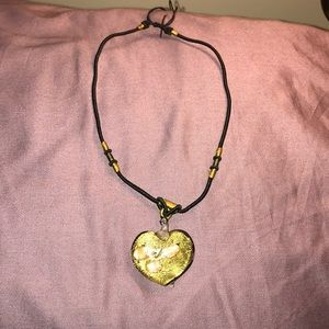 Jewelry - Adjustive necklace with a heart shaped pendant